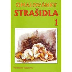 Omalovánky - Strašidla 1 - A4