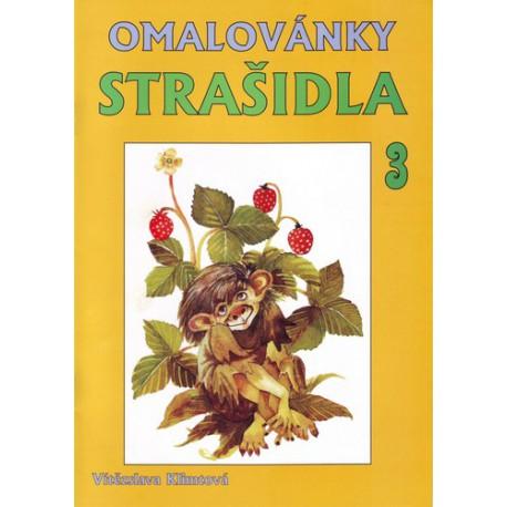 Omalovánky - Strašidla 3 - A4