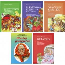 Sada 5 knih příhod rodiny skřítka Drnovce