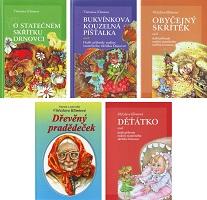 Sada 5 knih příhod rodiny statečného skřítka Drnovce